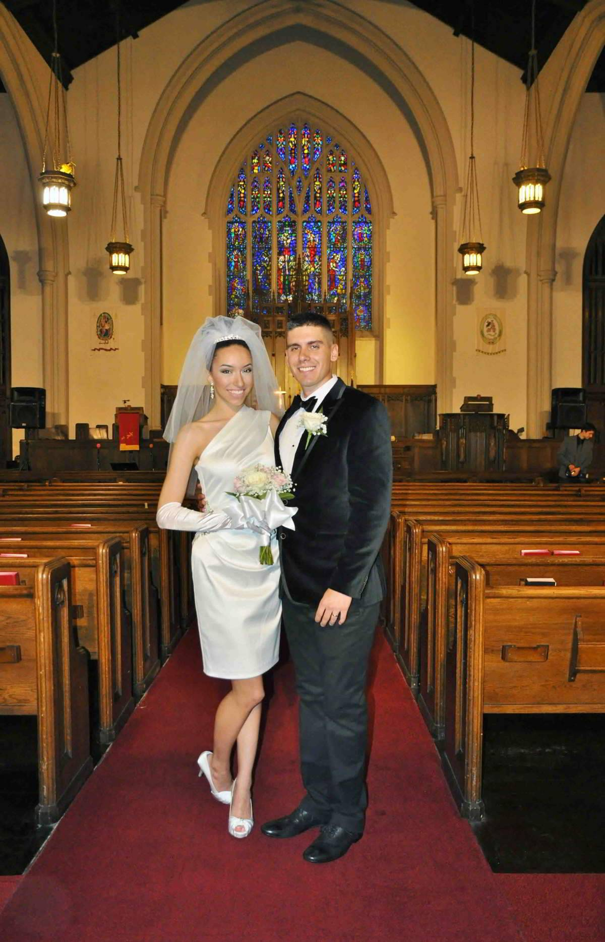The Cathedral Can Seat Up To 300 Guests And Is A Warm Inviting Location For Wedding Of Any Size From Smallest Largest Group