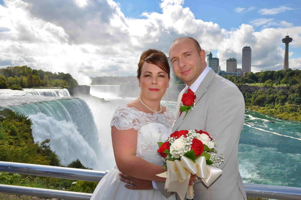 Other Locations Near The Falls Such As Terrapin Point Luna Island Or Upper Rapids Are Also Available For Your Ceremony